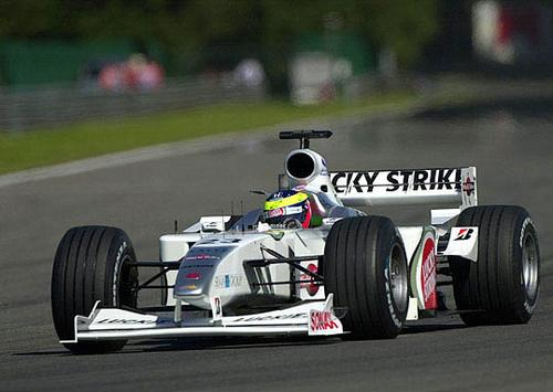 BAR (British American Racing), equipe historica de Formula 1 de 2000 - speedracing.50webs.com